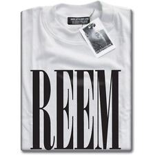 NEW Reem Loose Fit White T-Shirt TOWIE Cool Geek Tee