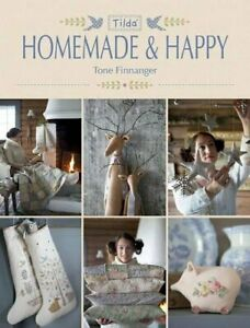 Tilda Homemade and Happy by Finnanger, Tone Book The Cheap Fast Free Post