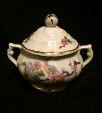 Bernardaud  Limoges France Bengali Sugar Bowl w/Lid