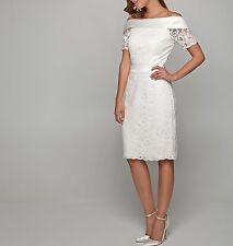 APART Spitzenkleid Damenkleid Brautkleid Hochzeit Standesamt creme 48187 AWK2