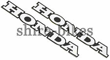 Honda Frame Emblem Stickers (Pair) suitable for use with CF70 CF50 6V Chaly