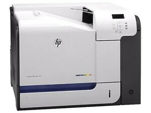 HP LaserJet M551N Laser Printer - COMPLETELY REMANUFACTURED CF081A