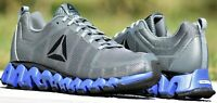 Reebok ZigWild TR 5.0 - New Men's Zig Wild Trail Training Shoes Alloy Grey Blue
