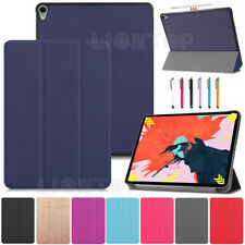 """New Smart Case Cover For Apple iPad Pro 12.9"""" 2018 Support Apple Pencil Charging"""