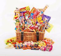 Sweet Hamper Gift Box Retro Mix Sweets Choose Size Birthday Thank You Christmas