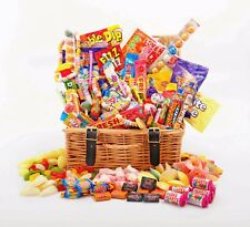 Sweet Hamper Gift Box Retro Mix Sweets Choose Size Birthday Thank You Get Well