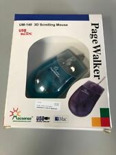 Macsense Page Walker UM-140 3D Scrolling Mouse USB for Mac