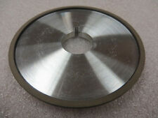 "100 mm x 5/16"" x 25 mm Keyway Arbor 4A2 Diamond Facing Grinding Wheel 220 Grit"