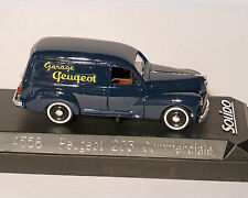 PEUGEOT 203 Familiar azul, SOLIDO, 1:43