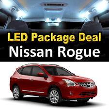 2008 - 2011 2012 2013 Nissan Rogue LED Lights Interior Package Kit WHITE 7PCS