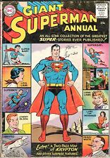 Superman Annual #1 1960 DC GD 2.0 - Back Cover is loose