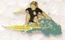 Hat Lapel Pin sports Surfer Dude NEW