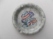 AMERICAN HARLEY - DAVIDSON DESIGN METAL ASHTRAY MOTORCYCLE CLUB Free Shipping UK