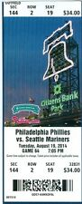 2014 Phillies vs Mariners Ticket: Hisashi Iwakuma 11 Ks in win/ Kyle Seager HR
