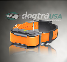 NEW Dogtra Pathfinder GPS Track and Train Add On Reciever With Orange Collar