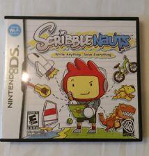 Scribblenauts Nintendo DS game complete
