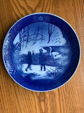 Royal Copenhagen 1987 Christmas Plate - Winterbirds