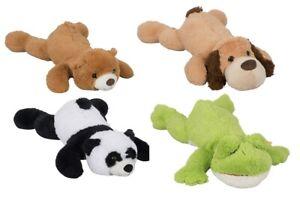 XXL Plüschtier 100 cm Sundkid Kuscheltier liegend weich Panda Teddy Hund Frosch