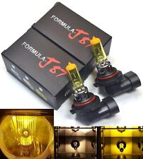 Rally H10 9145 100W 3000K Yellow Two Bulbs Fog Light Replace High Watt Upgrade (Fits: Neon)