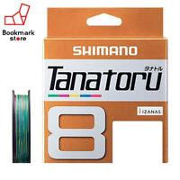 NEW Shimano Tanatoru X8 Multicolor 300m 54.6lbs/24.8kg #3.0 Braided PE Line JPN