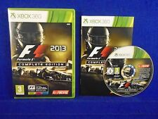 xbox 360 F1 2013 COMPLETE EDITION Formula 1 One REGION FREE Pal English