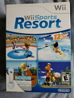 NEW Wii Sports Resort w/ BONUS Wii MotionPlus Boxed Version FACTORY SEALED