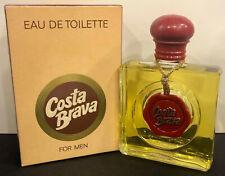 Vintage COSTA BRAVA Eau de Toilette, 50ml splash, made in Greece Unused (NOS)
