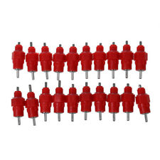 20 Pcs Water Nipple Drer Feeder Poultry Supplies Screw SS