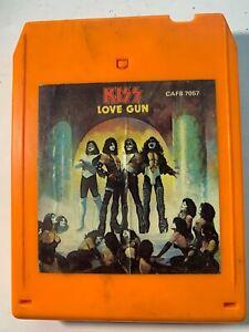 KISS: Love Gun 8-Track TESTED 1977 Orange Cart