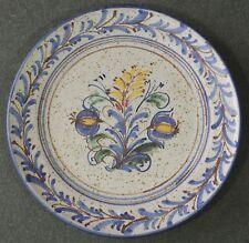 "Berkshire Pottery New York Folk Art Stoneware 11 3/4"" Platter EUC"