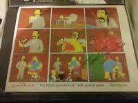 Simpsons, Worst Episode Ever, Tom Savini Signed, Limited Edition Print, Groening