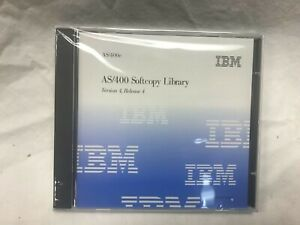 IBM AS/400 SOFTCOPY LIBRARY  Version 4 Release 4 Manuals CD, NEW SEALED