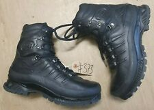 Meindl German Army SF Issue Black Leather GoreTex Combat Boots Size 10 UK #373