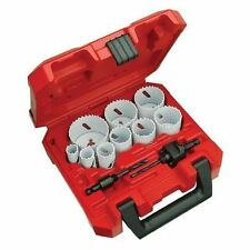 Milwaukee ELEC Tool - Ice-hardened Hole Saw Kit 13-piece