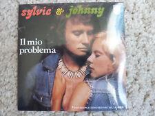 """JOHNNY HALLYDAY CD SINGLE  """"IL MIO PROBLEMA """" SCELLE"""