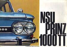 NSU 1000 TT Prospekt, 07/1965