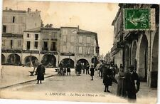 CPA Libourne-La Place de l'Hotel-de-Ville (176638)