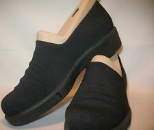 WOMEN'S ROBERT CLERGERIE BLACK ROUNDED TOE OXFORDS SIZE 6.5 AA