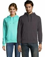 Hanes Adult ComfortWash Garment Dyed Fleece Hoodie Sweatshirt- 14 COLORS- XS-6XL