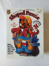 Masterpieces Really Big Shaped Puzzle Billy The Carpenter Beaver SEALED