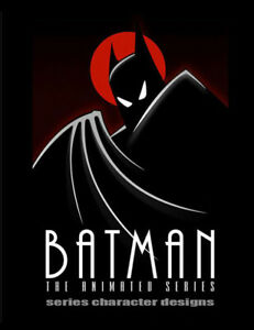 BATMAN THE ANIMATED SERIES - CHARACTER DESIGNS  BOOK - WARNERS BROS ANIMATION