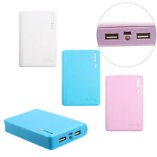 USB 5V 2A 18650 Power Bank Battery Box Charger AKKU Ladegerät Box For Smartphone