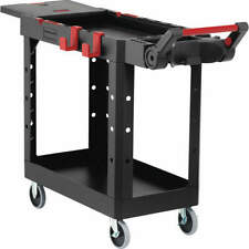 Rubbermaid Commercial Products 1997206 Utility Cart500 Lb Load Capblack