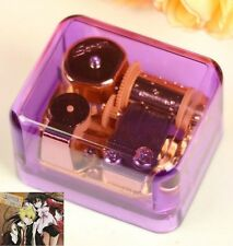 Purple Gold Wind Up Music Box : Pandora Hearts - Everytime You Kissed Me