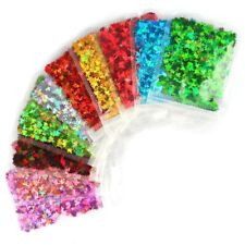 1Bag Holographic Maple Leaf Nail Art Sequins Chameleon Nail Glitter Flakes Laser