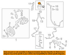NISSAN OEM Power Steering Pump-Reservoir Tank Cap 49181AA000