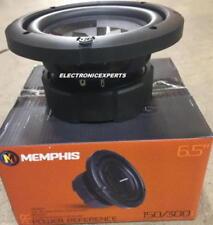 """Memphis 15-PRX6D2 6.5"""" DVC Dual 2-Ohm Subwoofer 6.5 INCH Woofer NEW PRX6D2 300W"""