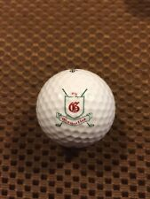 Logo Golf Ball-The Gauntlet Golf Club.Virginia.Older Logo