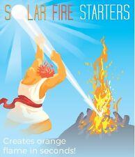 SOLAR FIRE STARTER, starts fire under 6 second, diameter 10 inches, 682500999574