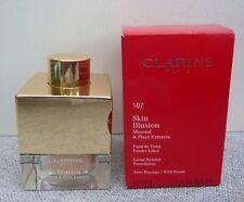 CLARINS Skin Illusion Loose Powder Foundation, #107 Beige, 13g, Brand New in Box